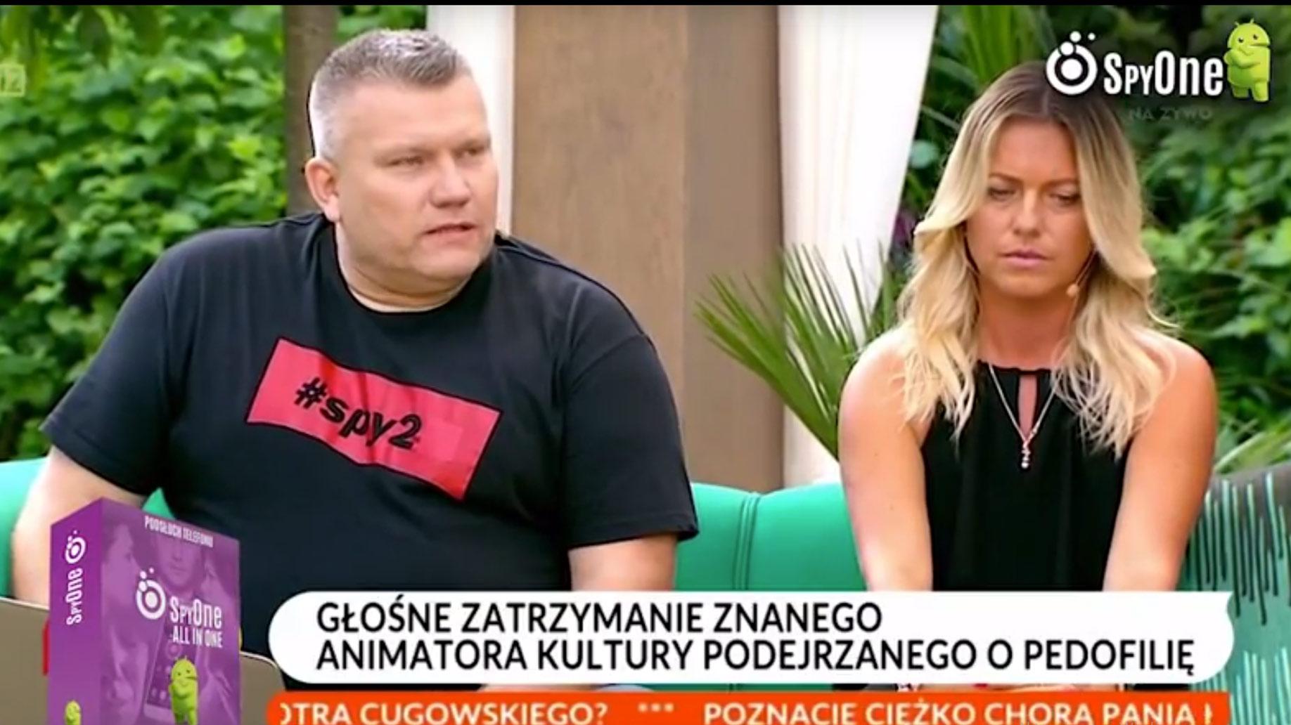 Ujęcie pedofila z Gdańska dzięki aplikacji szpiegowskiej SpyONE